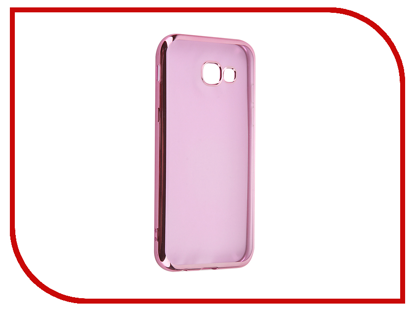 Аксессуар Чехол Samsung Galaxy A5 2017 iBox Blaze Pink frame аксессуар чехол ibox blaze для apple iphone 5 5s se pink