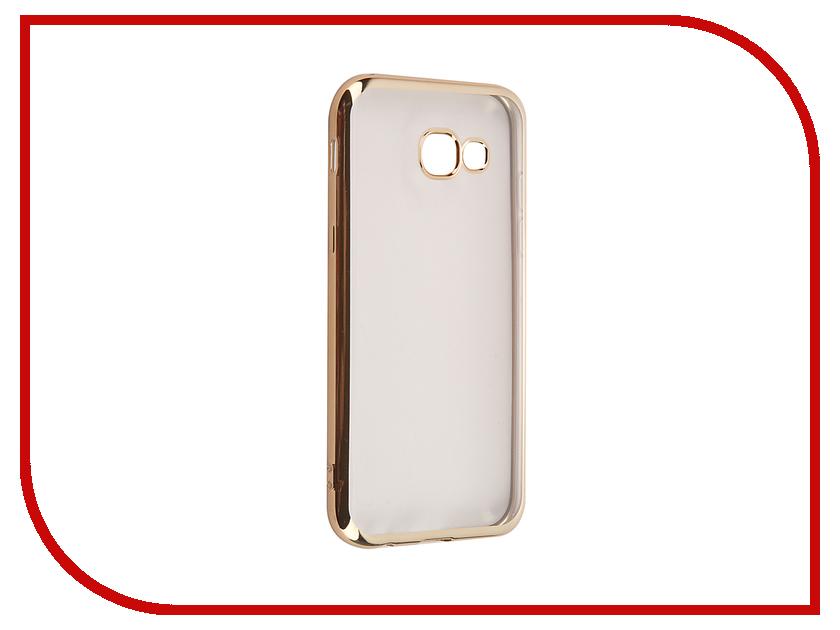 Аксессуар Чехол для Samsung Galaxy A5 2017 iBox Blaze Gold frame аксессуар чехол накладка samsung galaxy a5 ibox crystal grey