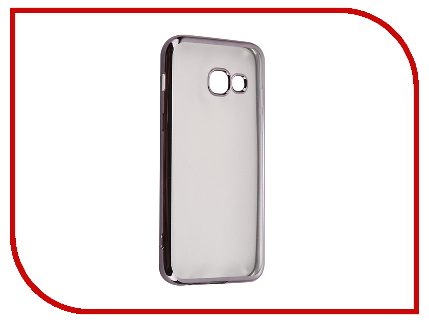 все цены на Аксессуар Чехол Samsung Galaxy A3 2017 iBox Blaze Black frame онлайн