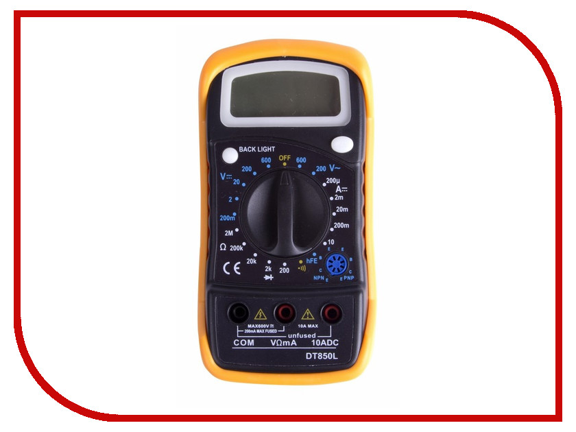 Мультиметр ProConnect MAS830L (DT850L) 13-3021 мультиметр фаzа mas830l