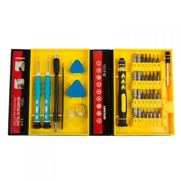 Набор инструмента Rexant 12-4761 набор инструментов rexant 12 6031
