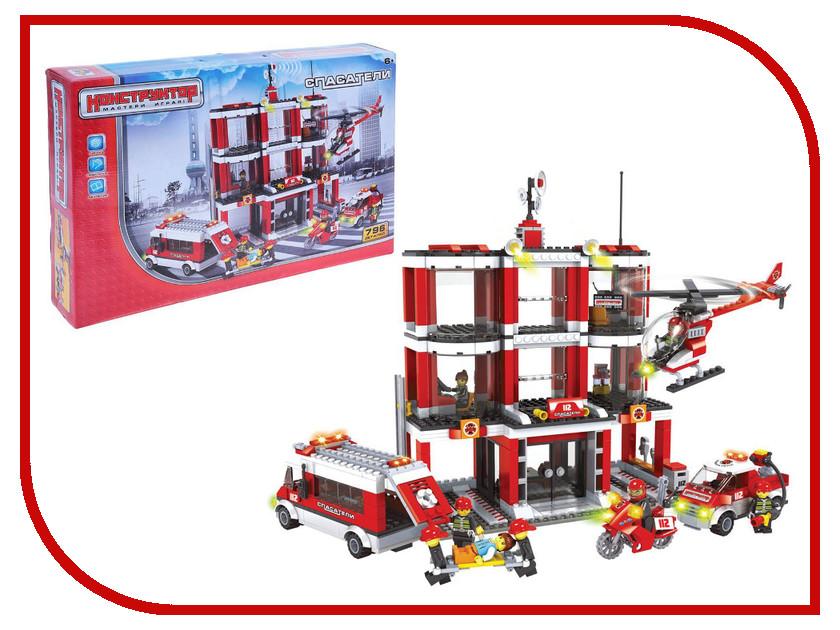 Конструктор Забияка Спасатели Станция 796 дет. 1035391 конструктор забияка спасатели станция 796 дет 1035391