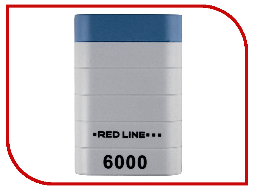 Аккумулятор Red Line S7000 6000 mAh White<br>