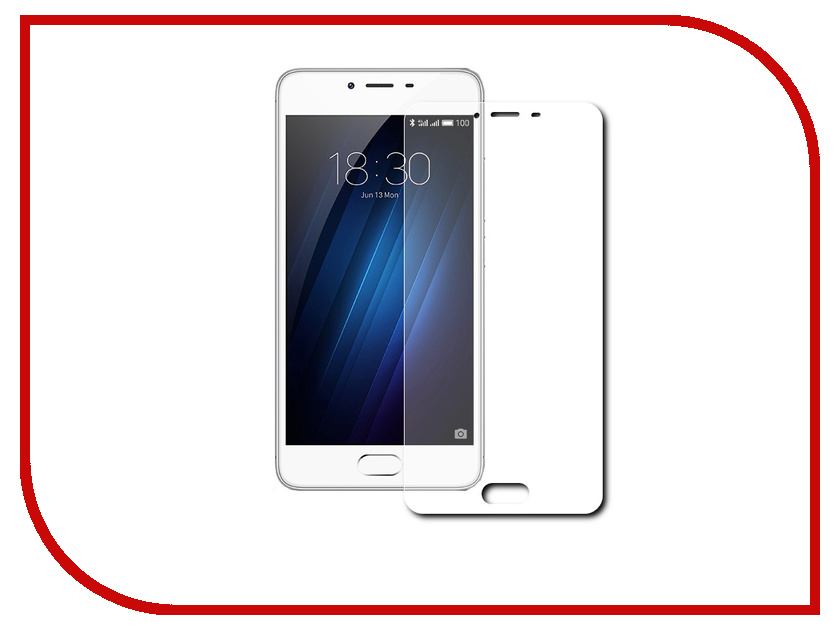 Аксессуар Защитное стекло Meizu M3s mini Red Line Full Screen Tempered Glass Black аксессуар защитное стекло meizu pro 6 caseguru full screen 0 3mm black 87012