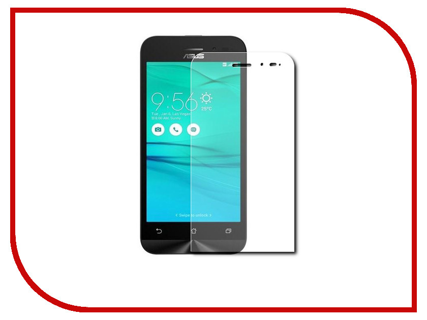 Аксессуар Защитное стекло ASUS ZenFone Go ZB452KG/ZB450KL 4.5 Red Line Tempered Glass