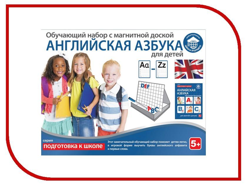Обучающая книга Школа будущего Обучающий набор Английская азбука для детей 80107