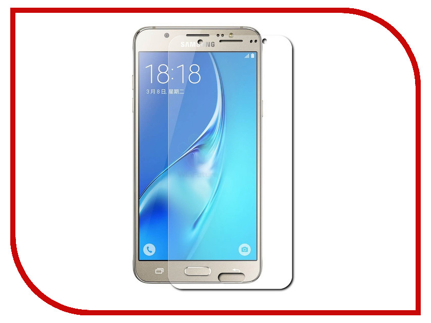 Аксессуар Защитное стекло для Samsung Galaxy J5 2016 Red Line Tempered Glass УТ000008546 аксессуар защитное стекло microsoft lumia 950 red line tempered glass