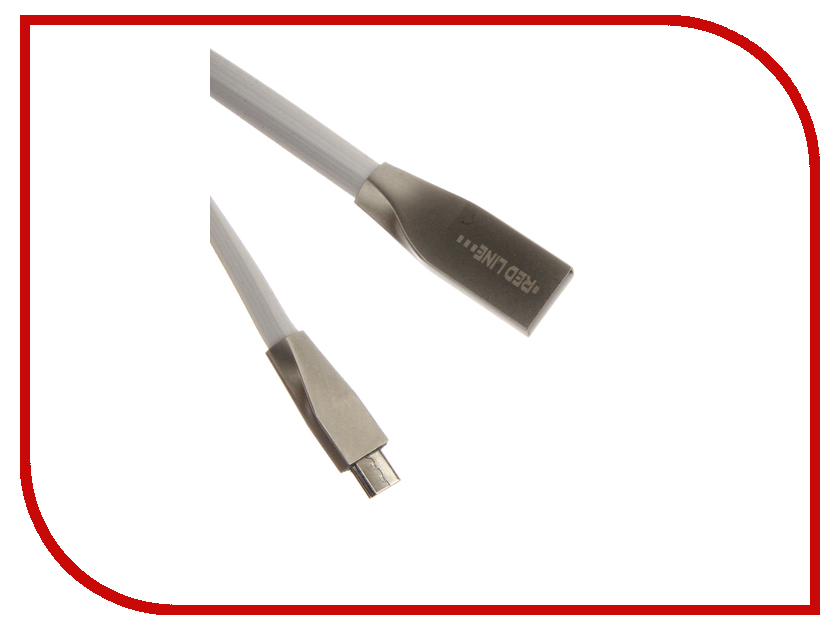 Аксессуар Red Line Smart High Speed USB - microUSB White