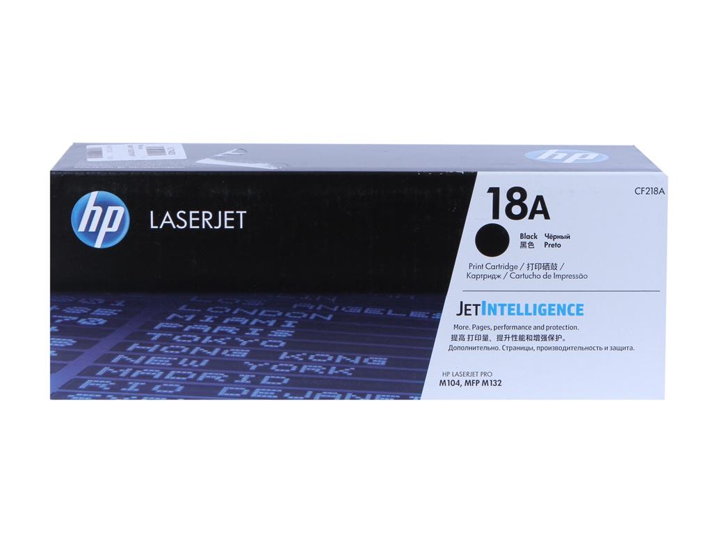 Картридж HP 18A CF218A Black для M132fw