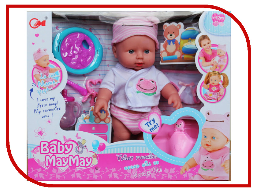 Кукла Город игр Baby MayMay GI-6423 кукла город игр baby maymay gi 6423