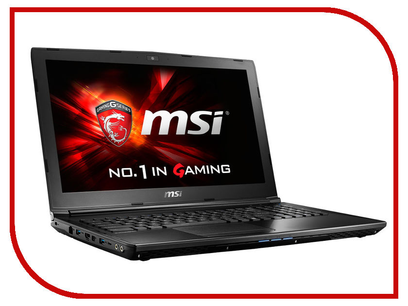 Ноутбук MSI GL62 6QE-1699XRU Black 9S7-16J562-1699 Intel Core i5-6300HQ 2.3 GHz/8192Mb/1000Gb/DVD-SM/nVidia GeForce GTX 950M 2048Mb/Wi-Fi/Bluetooth/Cam/15.6/1920x1080/DOS<br>