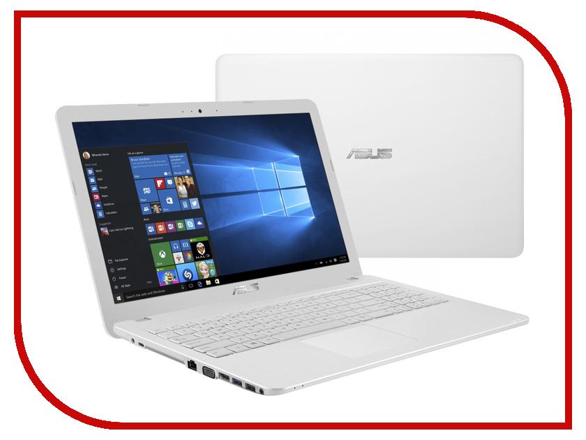 Ноутбук ASUS X540SA-XX558T White 90NB0B32-M13350 (Intel Pentium N3710 1.6 GHz/4096Mb/500Gb/DVD-SM/Intel HD Graphics/Wi-Fi/Bluetooth/Cam/15.6/1366x768/Windows 10)<br>