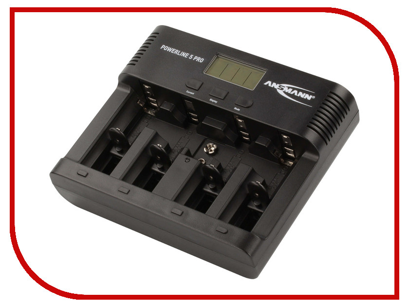 Зарядное устройство Ansmann Powerline 5 Pro BL1 1001-0018 батарейка cr3032 ansmann 1516 0013 bl1