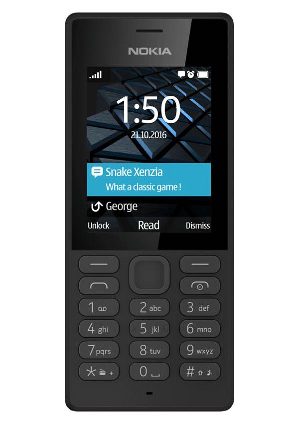 Сотовый телефон Nokia 150 (RM-1190) Dual Sim Black сотовый телефон nokia 130 dual sim 2017 grey