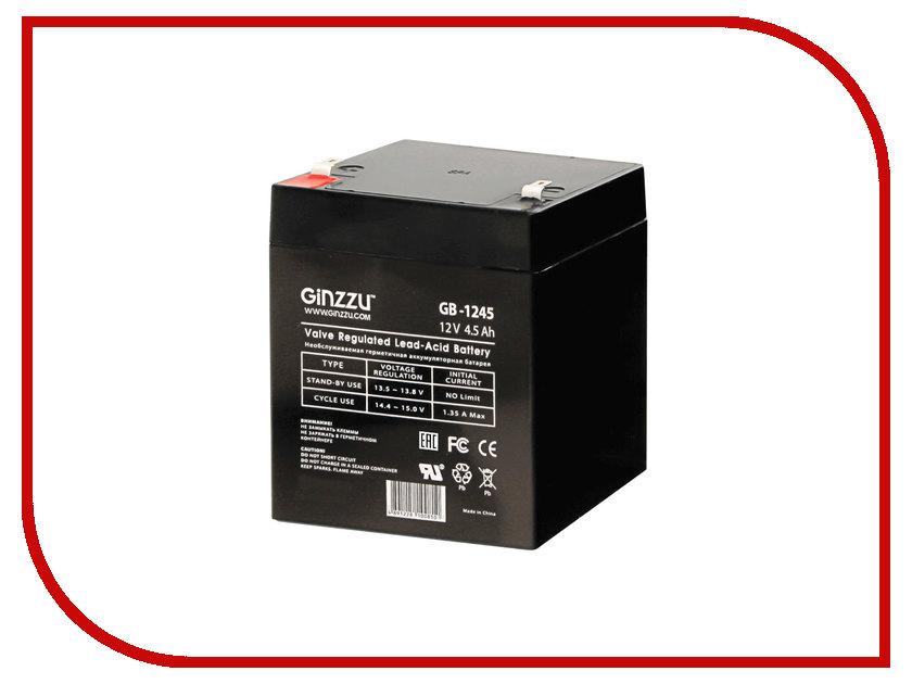 Аккумулятор для ИБП Ginzzu GB-1245 ginzzu s4510 аккумулятор