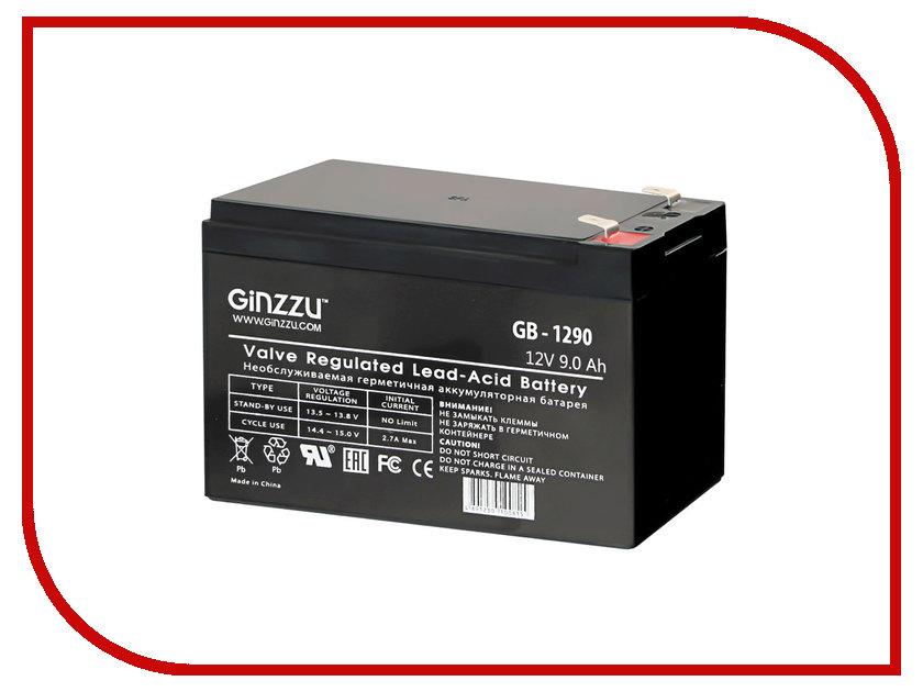 Аккумулятор для ИБП Ginzzu GB-1290 ginzzu s4510 аккумулятор
