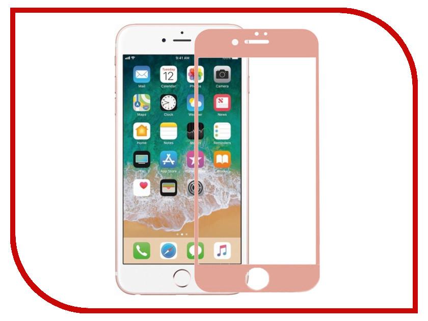 Аксессуар Защитное стекло Krutoff 3D для APPLE iPhone 6 Rose Gold 20230 аксессуар защитное стекло htc desire 820 krutoff 0 26mm 21986