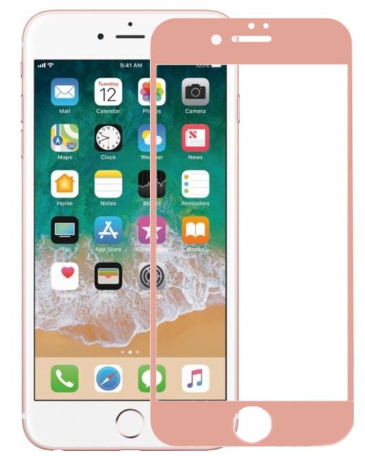 Аксессуар Защитное стекло Krutoff для APPLE iPhone 6 3D Rose Gold 20230