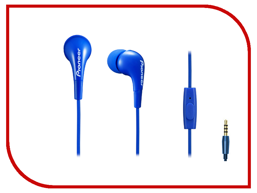 Гарнитура Pioneer SE-CL502T-L Blue гарнитура pioneer se ch9t