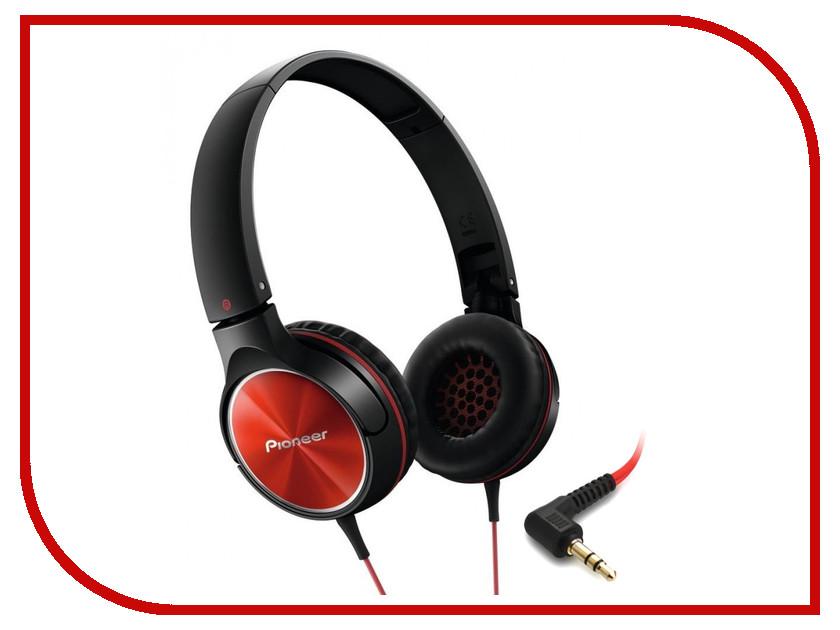 Наушники Pioneer SE-MJ522-R Red-Black<br>