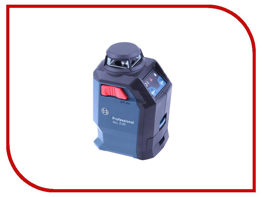 Нивелир Bosch GLL 2-20 + BM3 + кейс 0601063J00 bosch 0 601 063 702 gll 2 15 prof bm 3