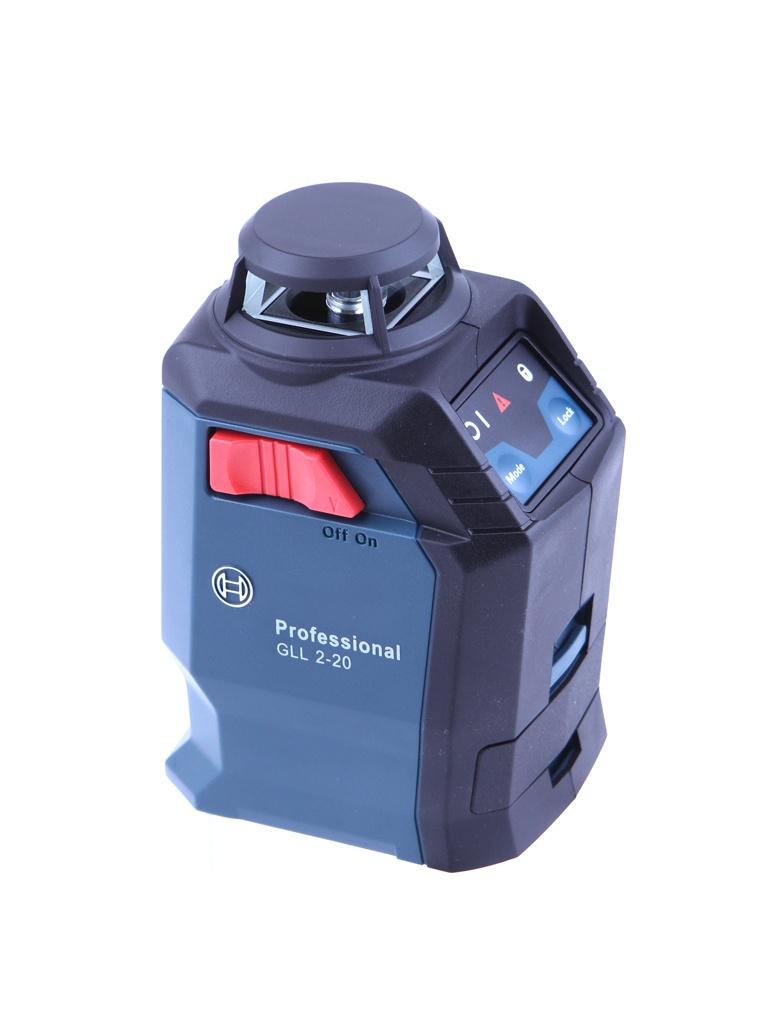 Нивелир Bosch GLL 2-20 + BM3 кейс 0601063J00