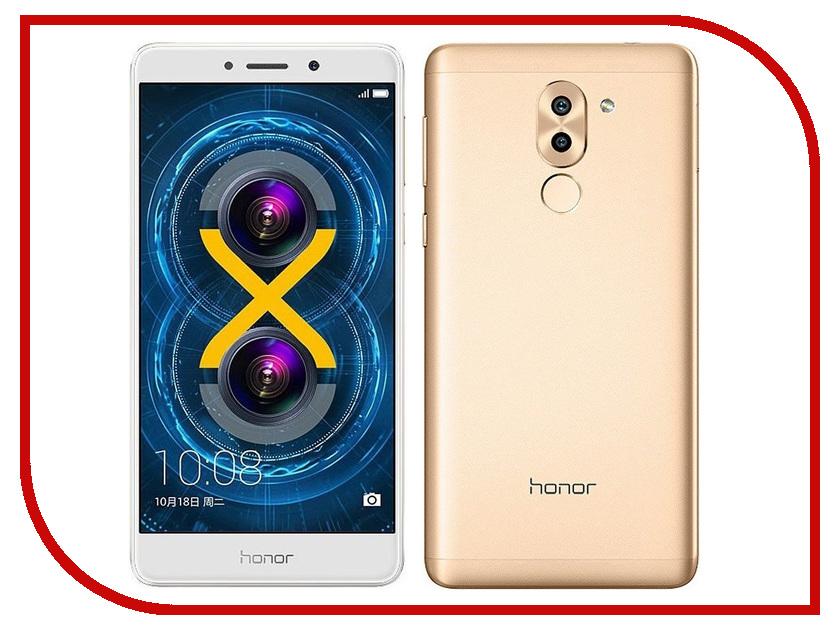 Сотовый телефон Huawei Honor 6X 32Gb Ram 3Gb Gold смартфон huawei honor 6x 32 гб