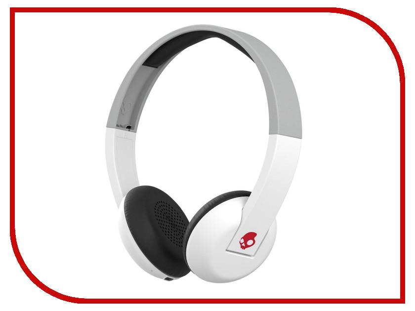 Гарнитура Skullcandy Uproar Wireless White-Gray-Red S5URHW-457