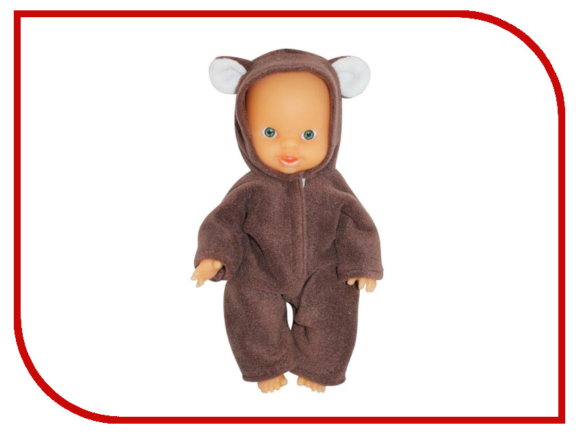 Фото Кукла Пластмастер Пупс маленький Мишка 10136