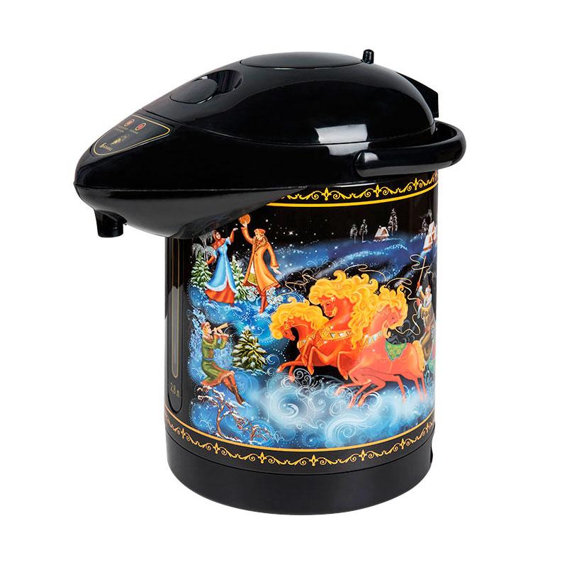 лучшая цена Термопот Василиса ВА-5003 Тройка Black