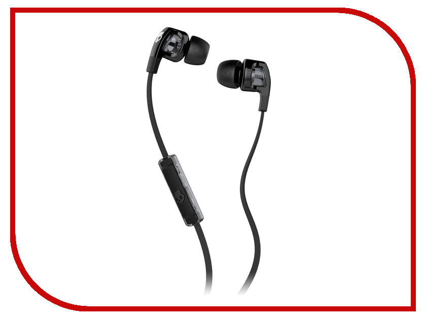 Skullcandy Smokin Buds with Mic Black S2PGFY-003