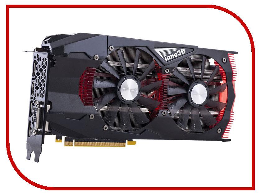 Видеокарта Inno3D GeForce GTX 1070 1556Mhz PCI-E 3.0 8192Mb 8000Mhz 256 bit DVI HDMI HDCP Gaming OC N1070-1SDN-P5DNX