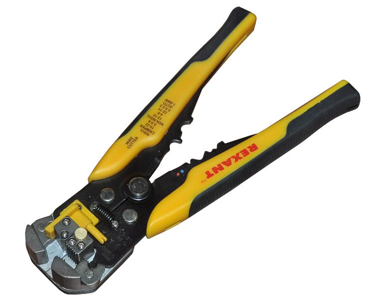 Инструмент Rexant (HT-766/TL-766) 12-4005 для зачистки кабеля le hai хайло ht g51 сеть stripper обнажая инструмент универсального инструмента для зачистки отрывного кабель телефонная линия провод