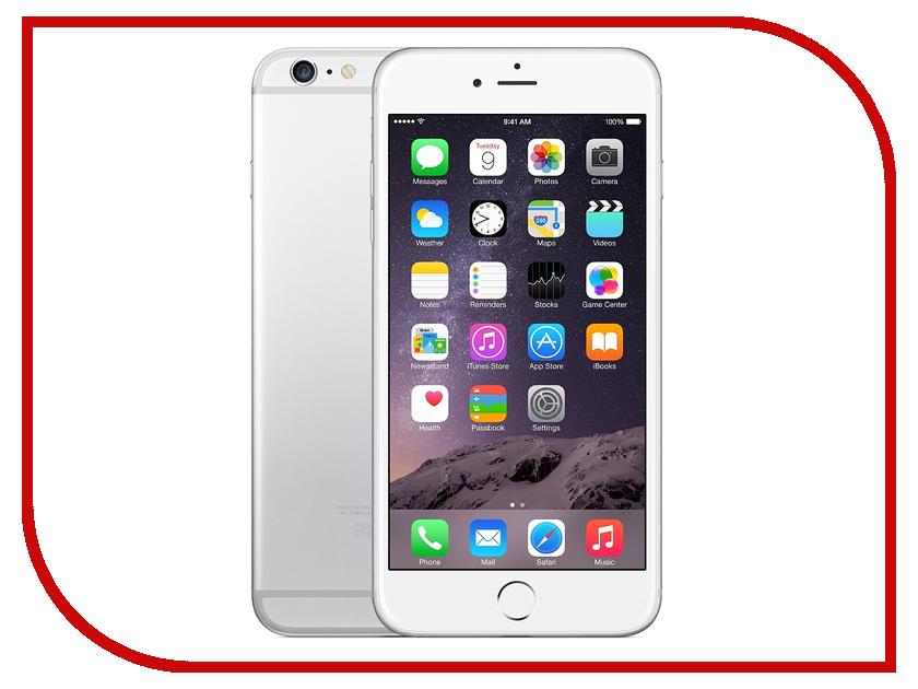 Сотовый телефон APPLE iPhone 6 Plus - 16Gb Silver FGA92RU/A восстановленный<br>