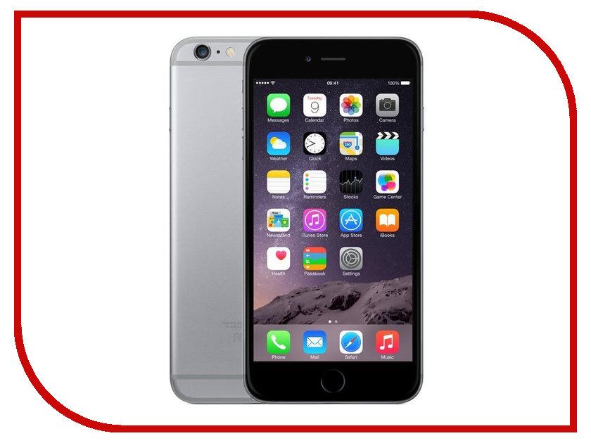 Сотовый телефон APPLE iPhone 6 Plus - 64Gb Space Gray FGAH2RU/A восстановленный<br>