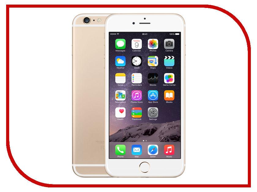 Сотовый телефон APPLE iPhone 6 Plus - 64Gb Gold FGAK2RU/A восстановленный<br>