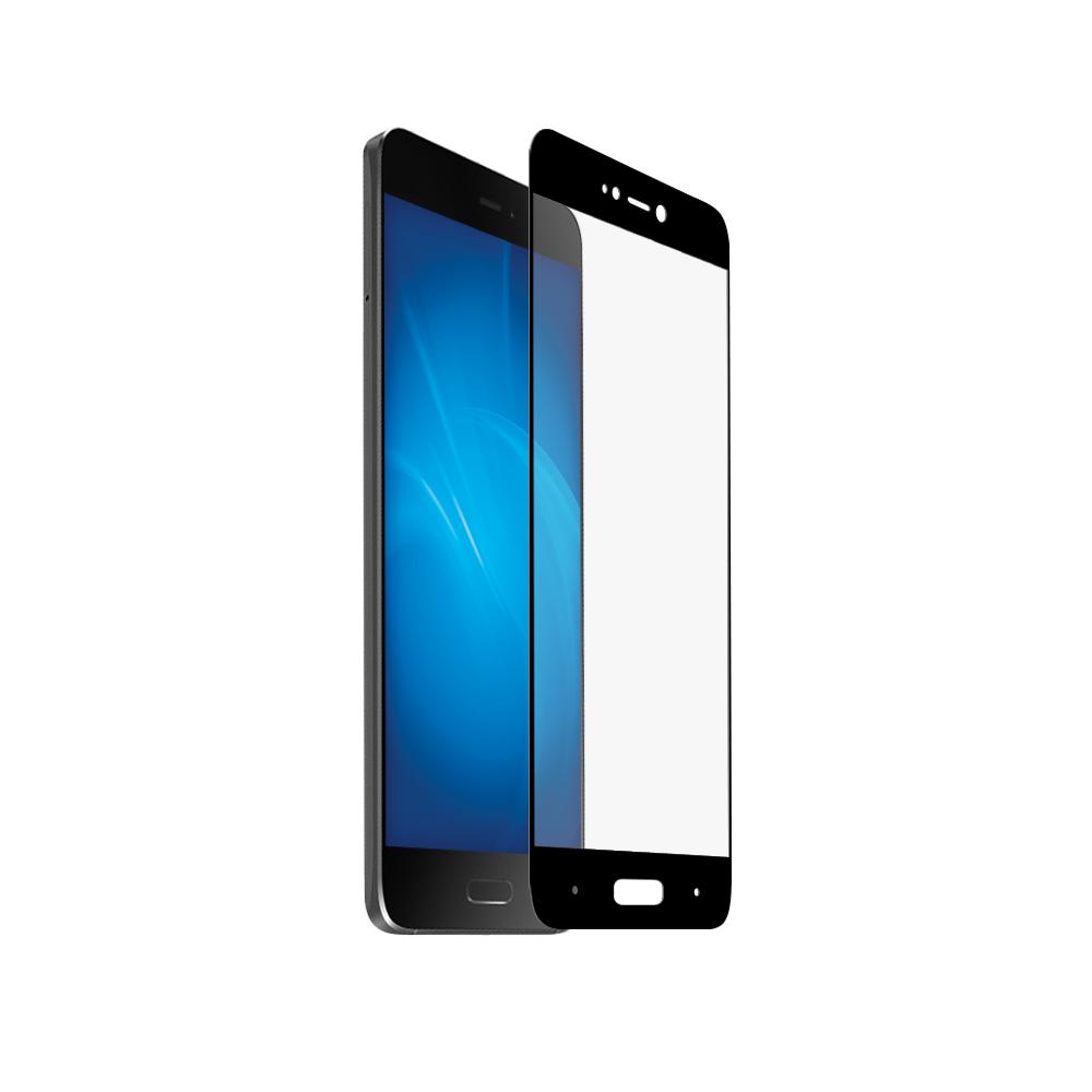 Аксессуар Закаленное стекло DF для Xiaomi Mi 5s Full Screen xiColor-06 Black аксессуар защитное стекло для xiaomi mi mix 2s df xicolor 29 black