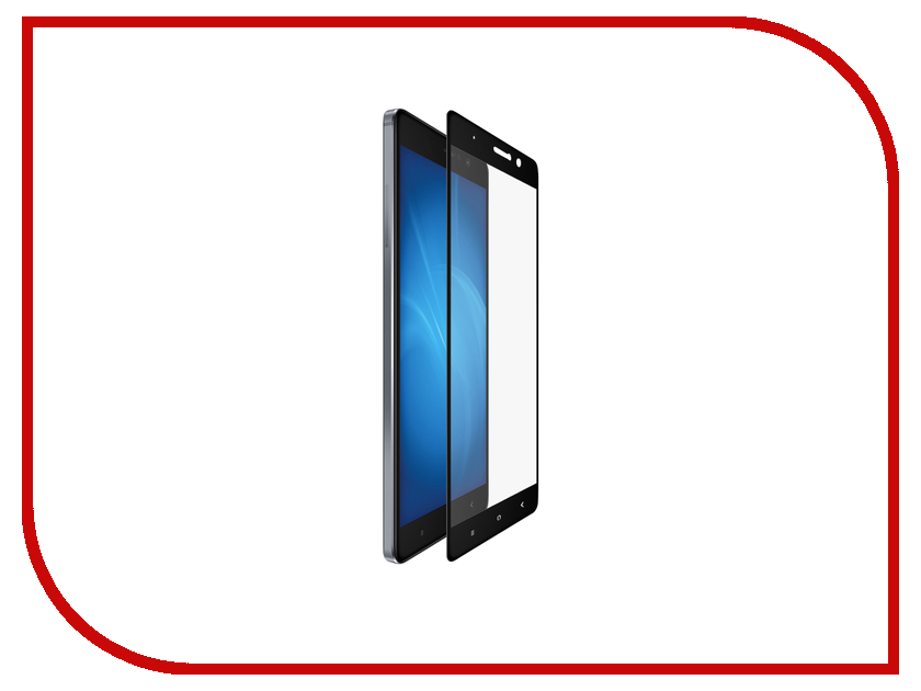 Аксессуар Закаленное стекло Xiaomi Mi 5s Plus DF Fullscreen xiColor-07 Black