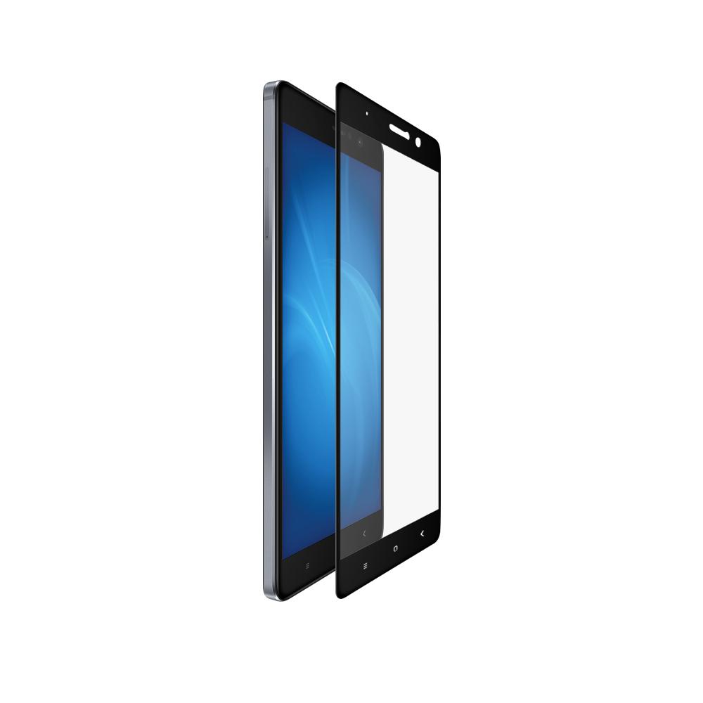 Аксессуар Закаленное стекло DF для Xiaomi Mi 5s Plus Full Screen xiColor-07 Black аксессуар защитное стекло для xiaomi mi mix 2s df xicolor 29 black