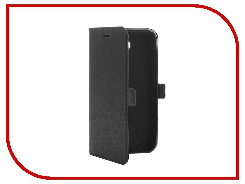 Здесь можно купить Samsung Galaxy J3 (2017)  Аксессуар Чехол Samsung Galaxy J3 (2017) DF sFlip-16 Black