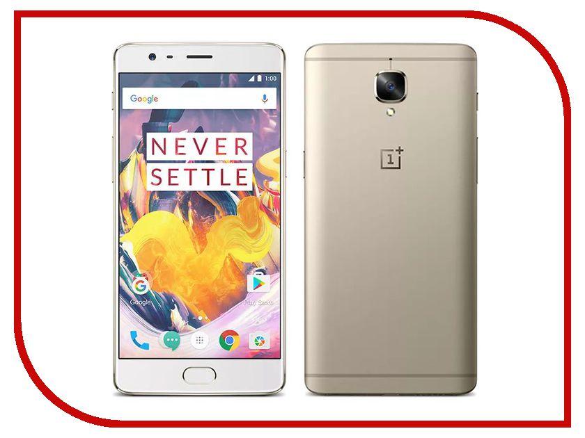 Сотовый телефон OnePlus 3T 64Gb Soft Gold oneplus 3 купить в россии