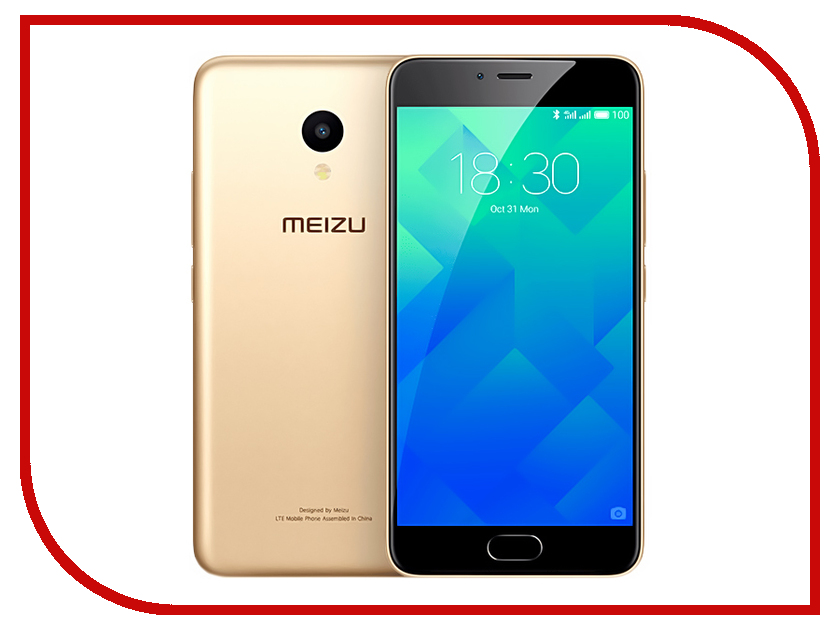 Сотовый телефон Meizu M5 32Gb Gold сотовый телефон дискавери 5