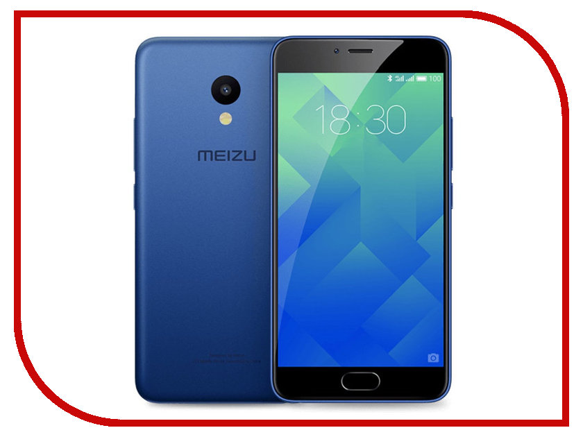 Сотовый телефон Meizu M5 32Gb Blue сотовый телефон meizu m5 16gb black