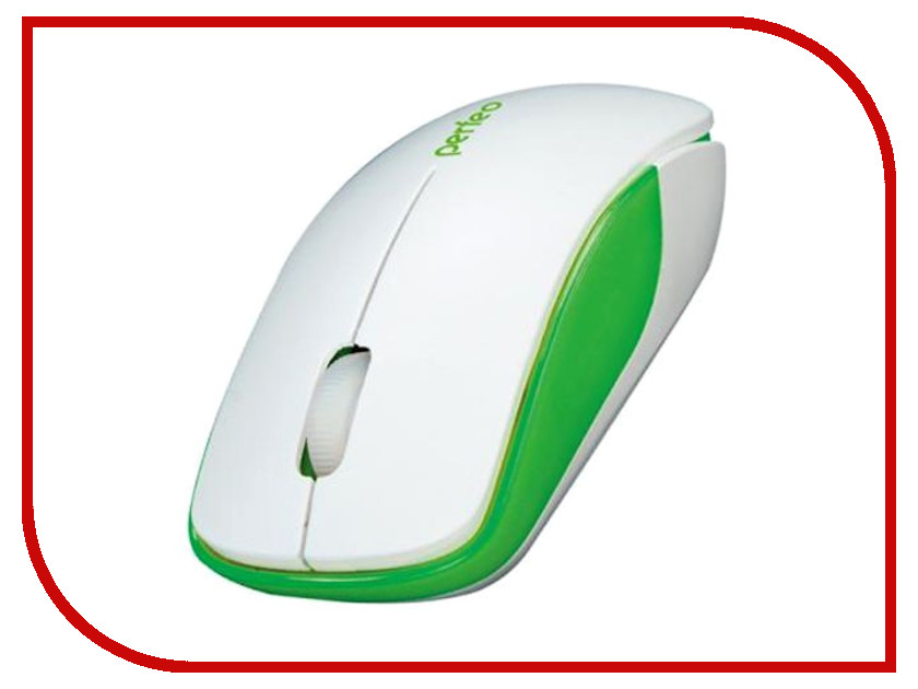 Мышь Perfeo Assorty USB White-Green PF-763-WOP-W/G мышь perfeo assorty usb white red pf 763 wop w r