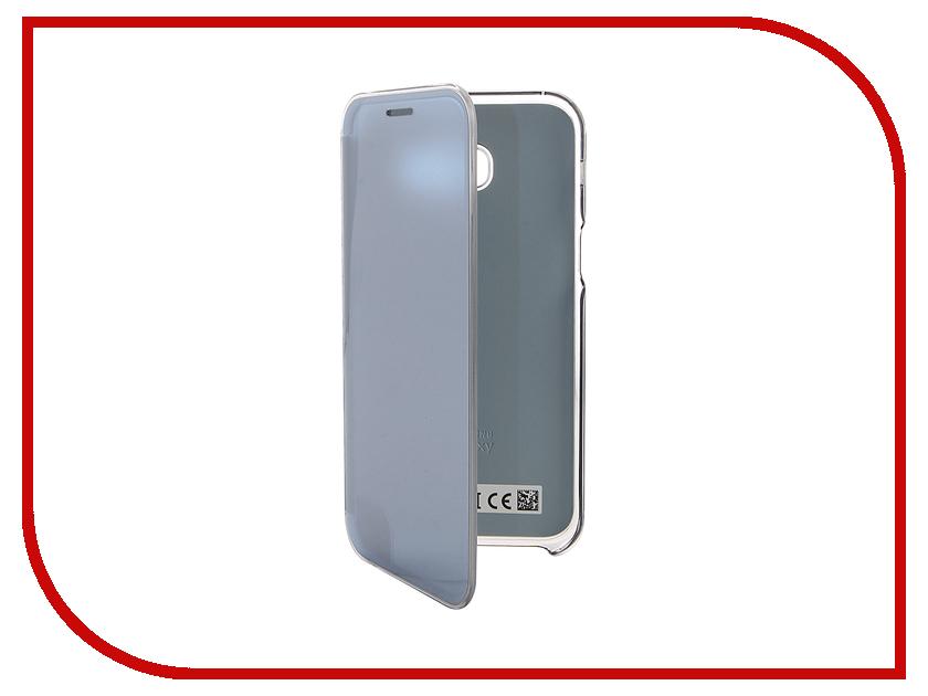 Аксессуар Чехол Samsung Galaxy A5 2017 Clear View Blue EF-ZA520CLEGRU<br>