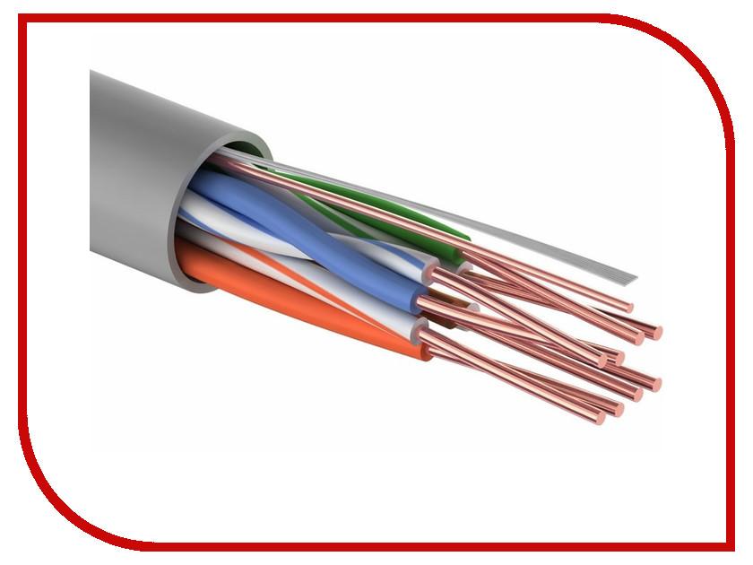 Фото Сетевой кабель ProConnect UTP / CCA / Cat 5 4x2x0.50mm 50m 01-0043-3-50 аксессуар proconnect rg 6u 50m white 01 2205 50 кабель