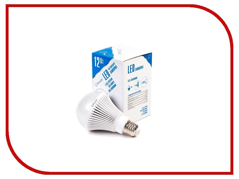 Лампочка iPower 12W 4000K 960LM E27 IPHB12W4000KE27 1001955 лампочка ipower 9w 2700k 720lm e27 iphb9w2700ke27 1001952
