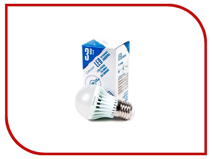 Лампочка iPower 3W 4000K 250LM E27 IPHB3W4000KE27 1001947