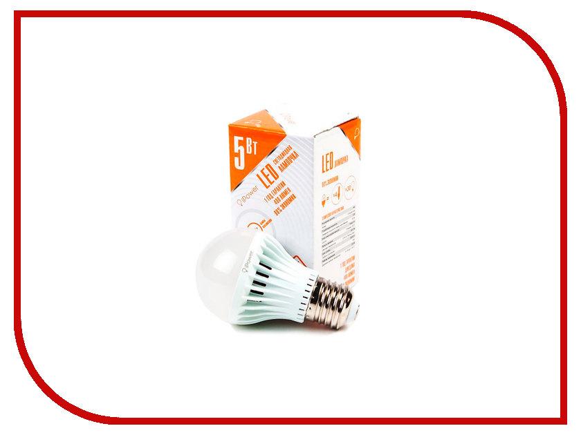 Лампочка iPower 5W 2700K 400LM E27 IPHB5W2700KE27 1001948