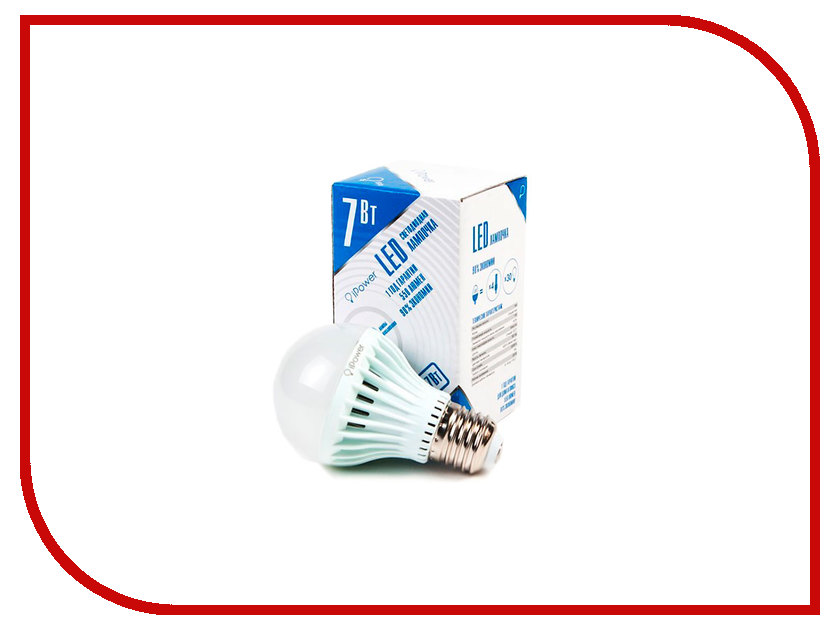 Лампочка iPower 7W 4000K 550LM E27 IPHB7W4000KE27 1001951